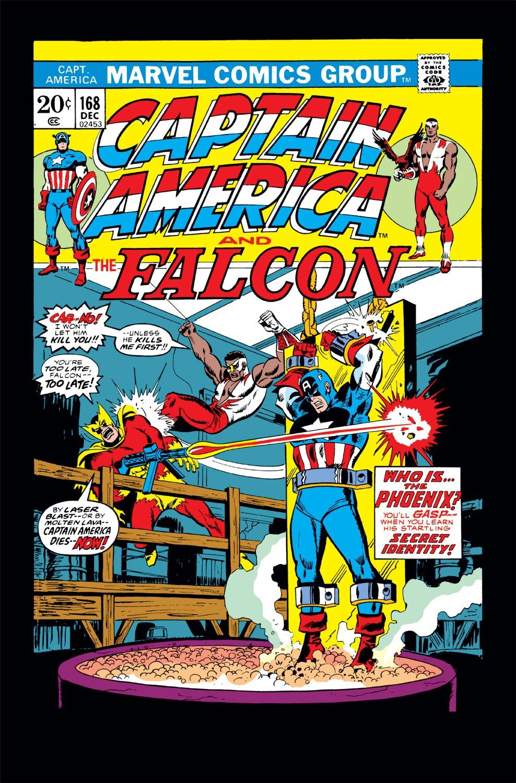 Captain America (1968) Issue #168 #82 - English 1