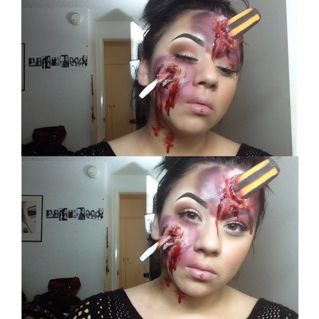 epic halloween makeup 2014