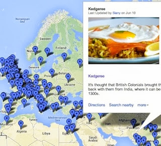 The Domestic Sluttery Food Map of the World