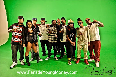 fotos raras de young money