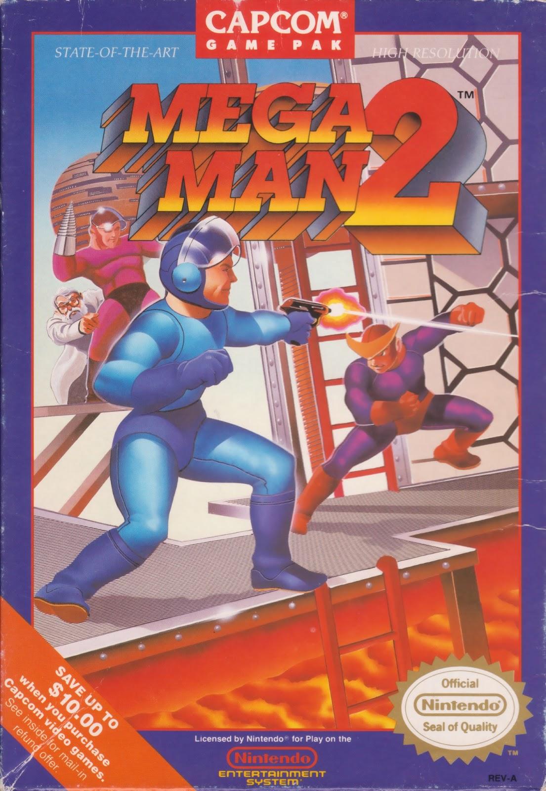 Rockman corner meet the man who drew mega man 2 39 s box art for Megaman 9 portada