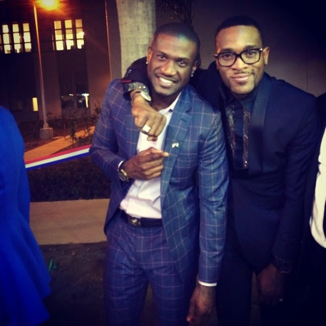 dbanj peter okoye us embassy party abuja