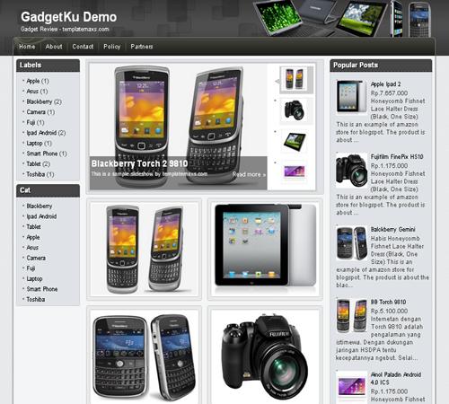Free Blogger Template Gadgetku