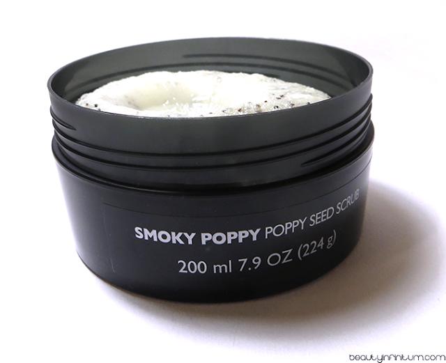 the body shop smoky poppy scrub