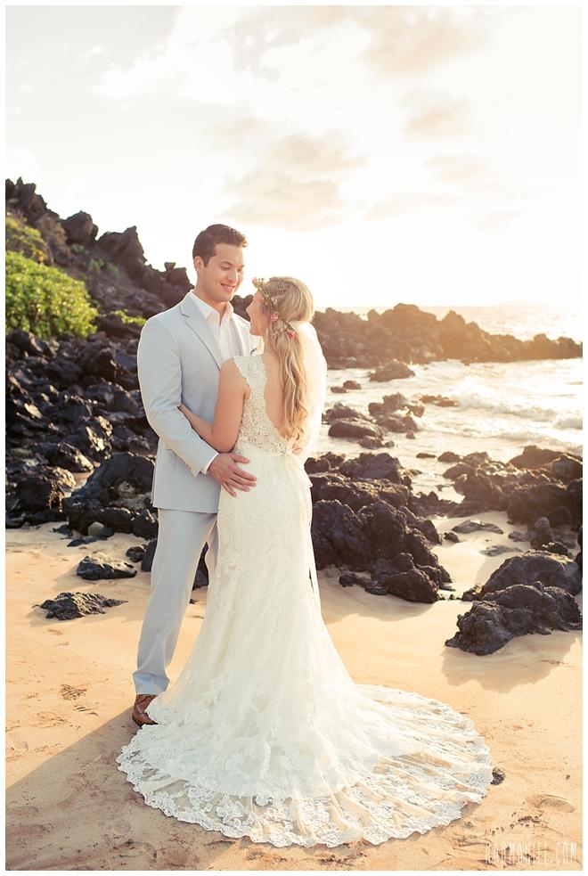 The Maui Wedding of Gillian & Steven by Simple Maui Wedding