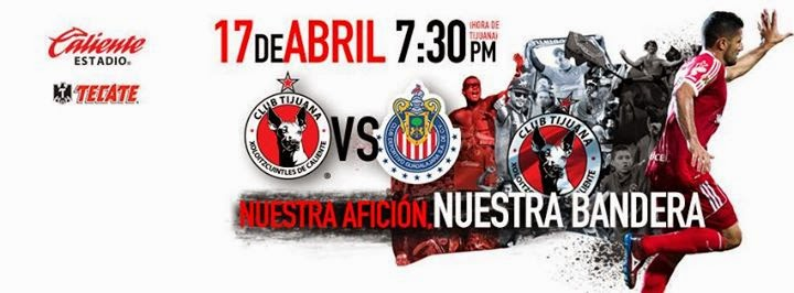 Links Tijuana vs Chivas en VIVO