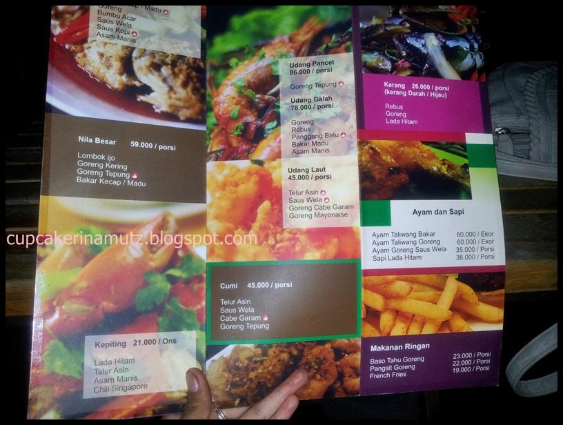 Kuliner jogja the westlake resto rina chabbymutz for Z kitchen jogja menu