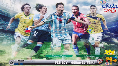 Pes Egy 2013 Patch Copa America 2015 by Mohamed Triki