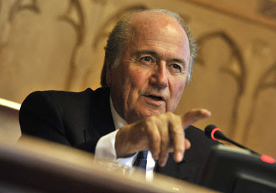 Sepp Blatter fifth term