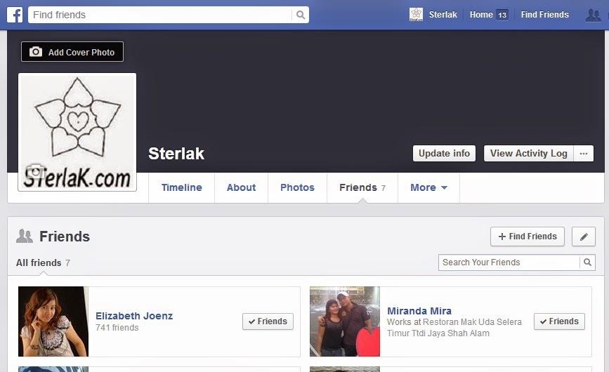 facebook sterlak