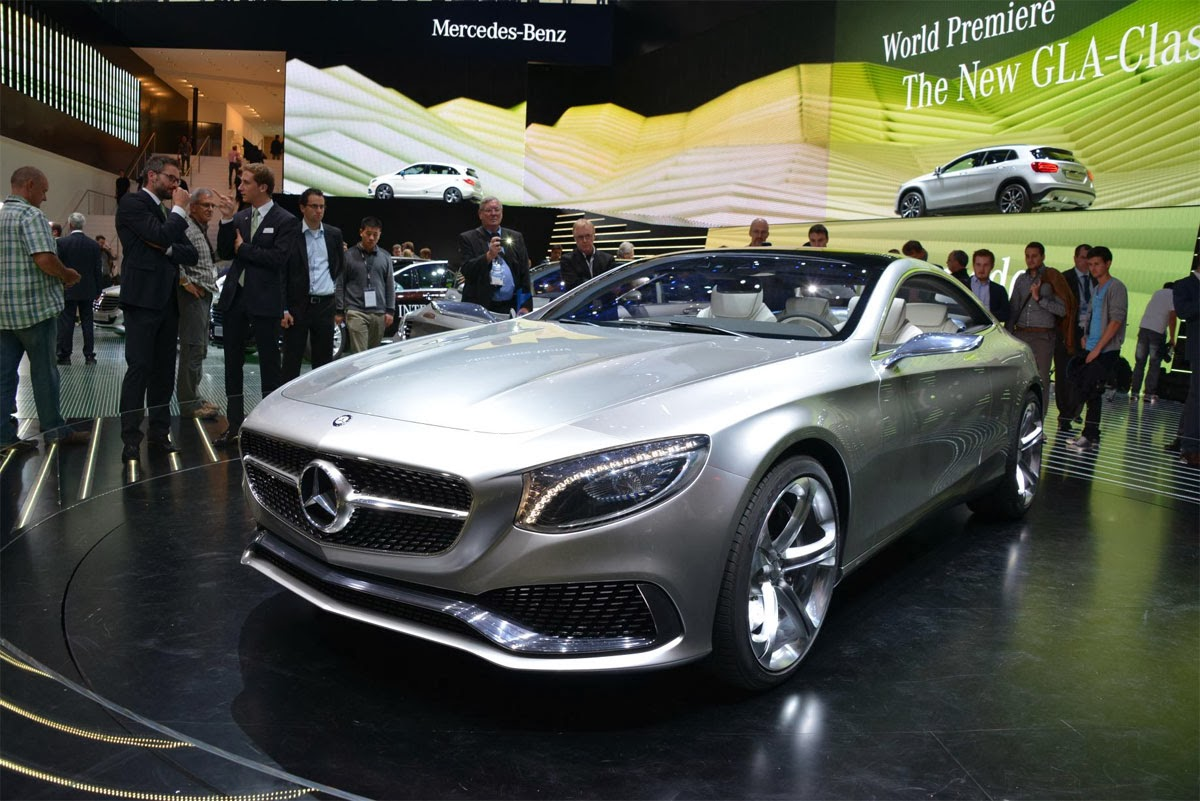 mercedes shows s class coupe