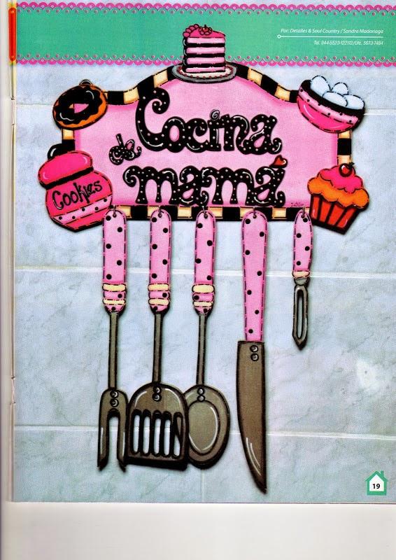 Revista manualidades para la cocina revistas de for Manualidades para la cocina