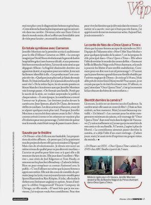 Jennifer Morrison Cosmopolitan France Magazine photoshoot February 2014