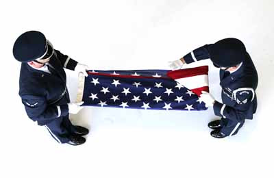 Proper Retrieval of the American Flag