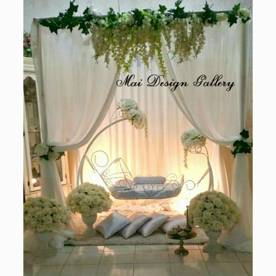 Sleeping Beauty Cradle With Pagola Style Batu Gajah