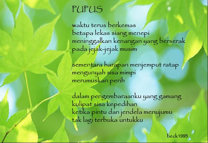 Sastra: Kumpulan Puisi Lingkungan Hidup dan Kebersihan ~ Deva Untuk ...