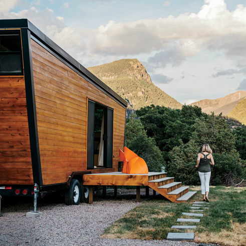 Couple Design and Build Beautiful Tiny House with Limited