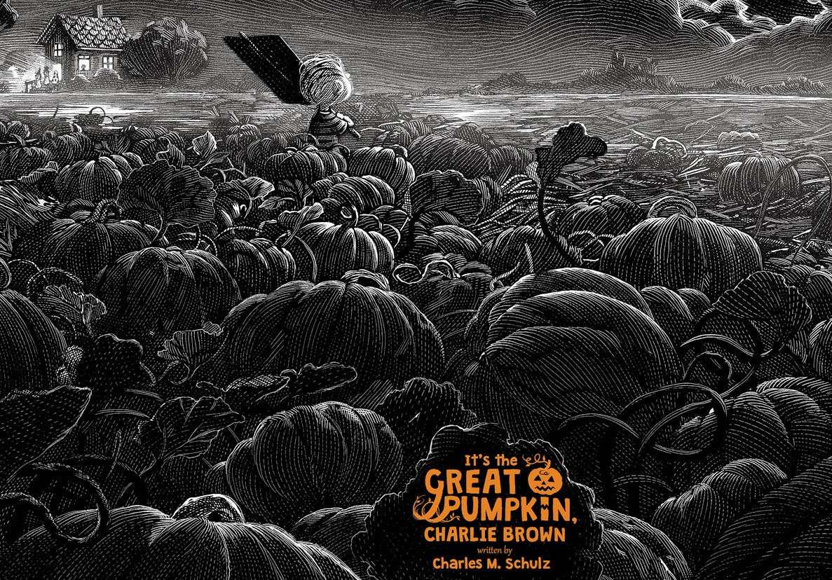 It's The Great Pumpkin Charlie Brown by Nicolas Delort & Dark Hall Mansion - Undead Monday