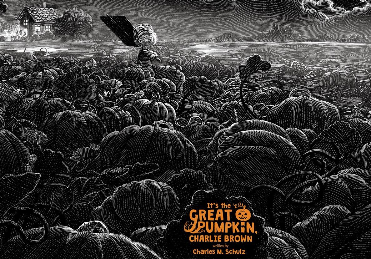 It's The Great Pumpkin Charlie Brown by Nicolas Delort & Dark Hall Mansion - Undead Monday