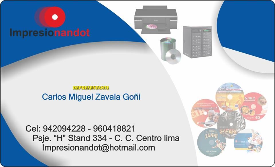 IMPRENTA DE CDS Y MÁS...