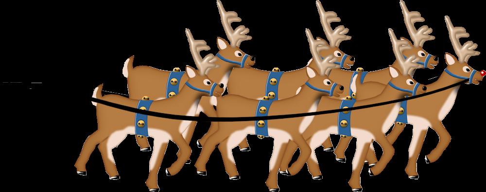 Im genes y gifs de navidad renos de navidad for Dibujos de renos en navidad