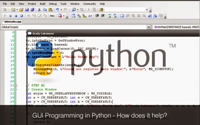 writing windows services in python