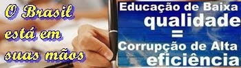 Chega de corrupção
