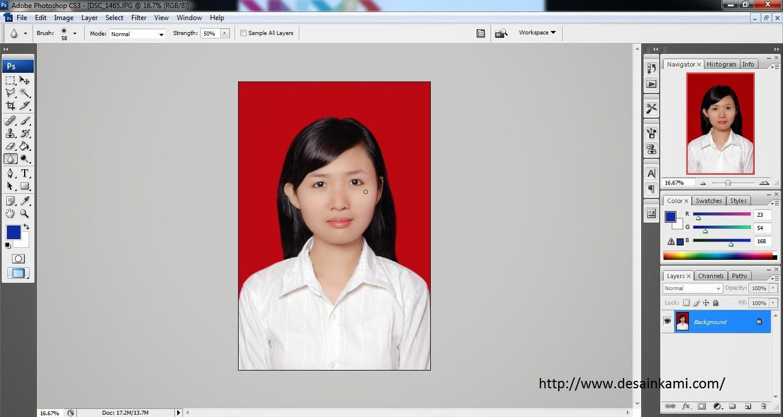 [Video] Mengganti Background Foto dengan Photoshop