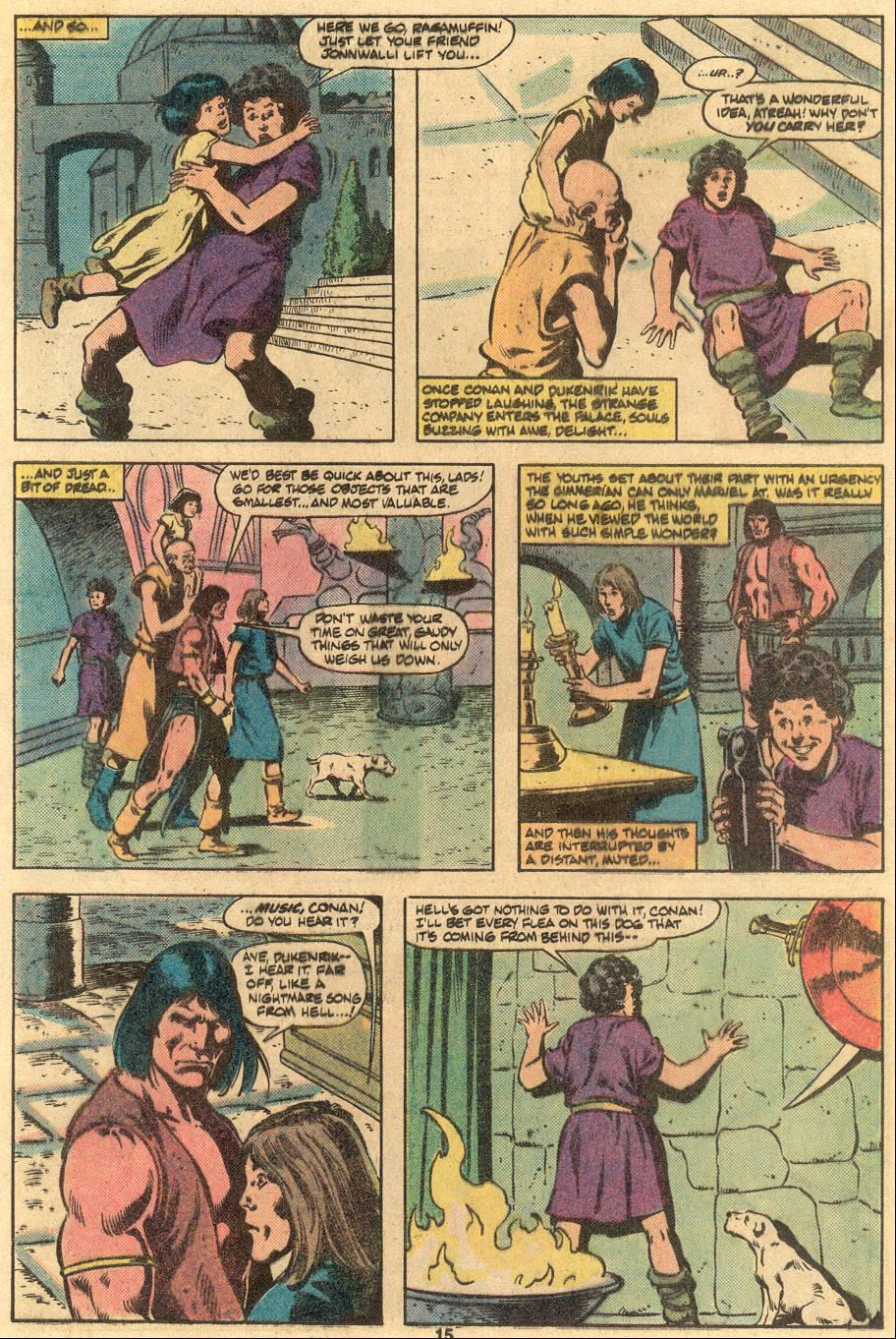 Conan the Barbarian (1970) Issue #122 #134 - English 12