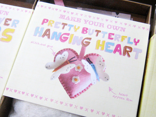 Kit corazón de fieltro para niños