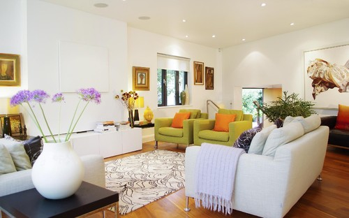 Get Inspired By This 2014 Comfort Modern Living Room Decorating Ideas