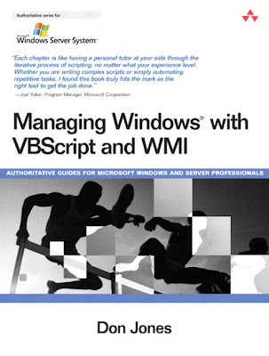 Managing Windows® with VBScript and WMI Cover