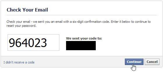 Selanjutnya masukan password baru anda, dengan benar dan klik ...