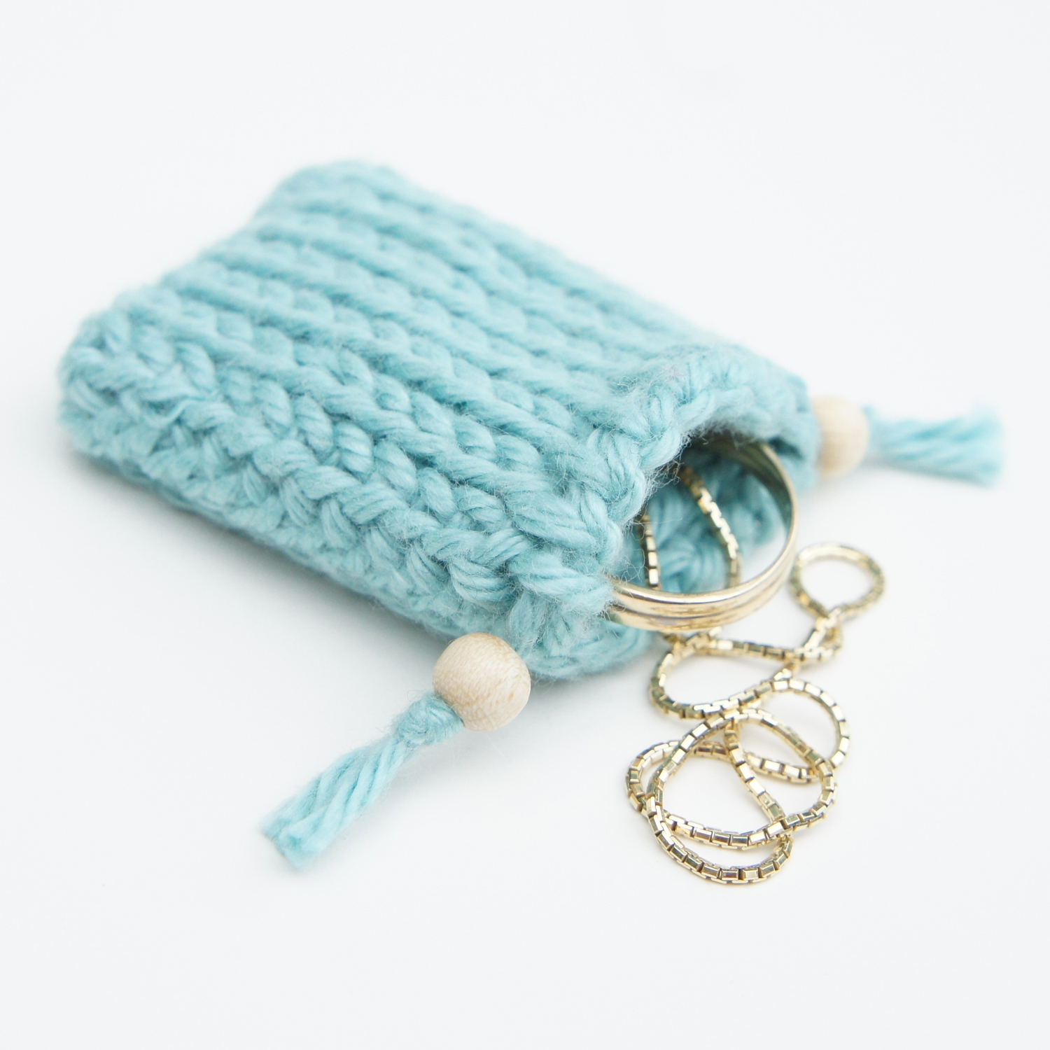 Small Crochet Pouch Pattern : ... cute design shop: new tunisian crochet pattern - drawstring gift bags