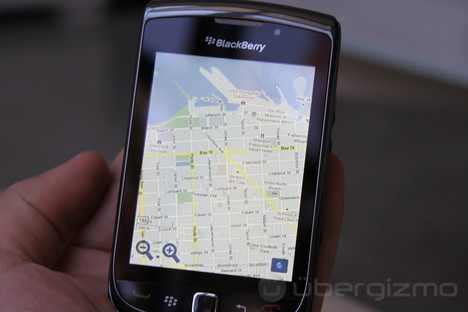 de : aplicaciones,Argentina,BlackBerry Maps,BlackBerry News,Tech
