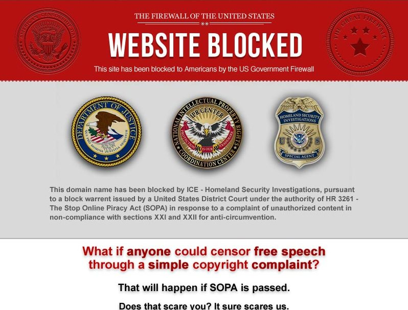 sopa censorships sweetheart essay The net's only sopa white-out  working on the web is hard, which is why  this way, if the site gets shut down under the ridiculous censorship bills, the compa .