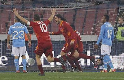 Napoli 1 - 3 AS Roma (1)