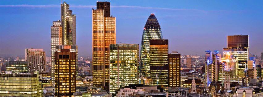 倫敦市中心圖