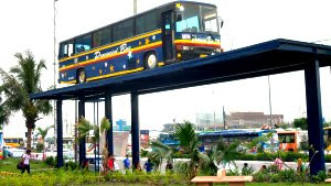 Jeepney and UV Express Terminal in South West Integrated