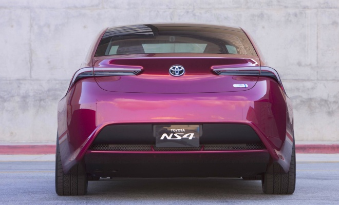 Toyota NS4 concept rear view