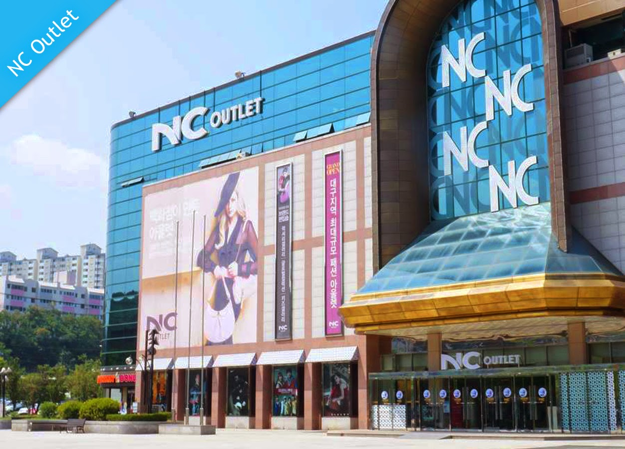 Shopping Areas in Daegu-NC Outlet, Buk-gu