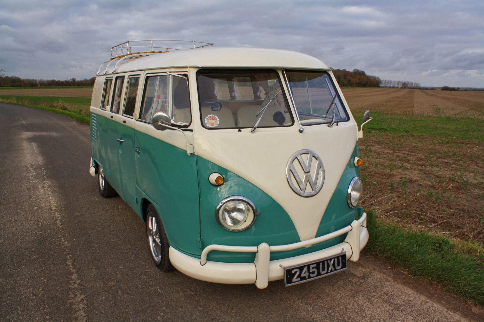 1962 Vw Split Screen Camper Van