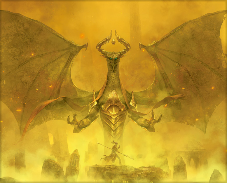 Magic The Gathering - M13 chegando e    Nicol Bolas  Ajani  Liliana e    Planeswalker Wallpaper