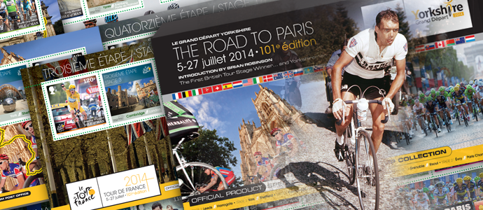 Le Grand Depart Yorkshire – The Road to Paris - The Isle of Man Post Office