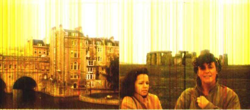 Bath, Stonehenge, Fátima e Janine em domingo gelado do outono inglês, em 1985