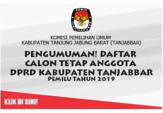 DCT DPRD Kabupaten Tanjabar