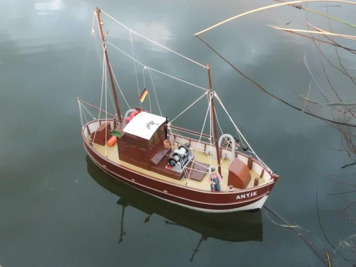 Antje von Robbe - Nach 20 Jahren zurück auf dem Wasser Bild 1