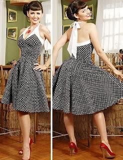 modelos de vestidos godê