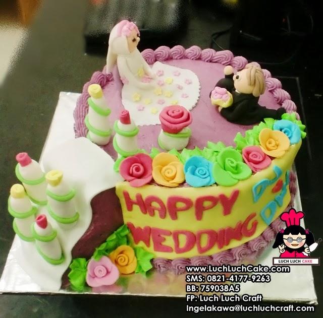 Kue Tart Pengantin Daerah Surabaya - Sidoarjo