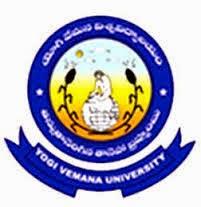 Yogi Vemana University Time Table 2015